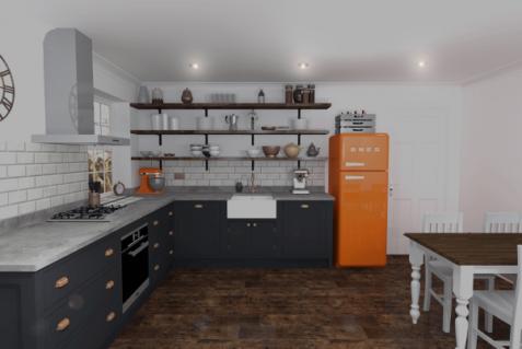 Shaker-Style-Kitchen