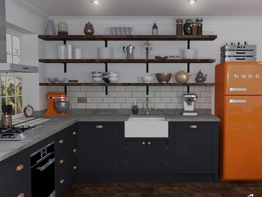 Small Kitchen Example